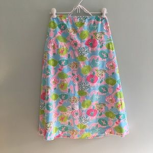 Lily Pulitzer strapless dress, size XL